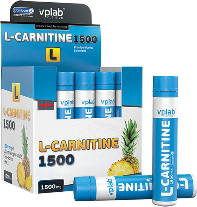 "Карнитин VPLab ""L-Carnitine 1500"", 20 ампул х 25 мл"