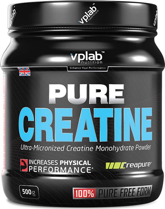 Креатин моногидрат Vplab Pure Creatine, 500 г dymatize nutrition моногидрат креатина dymatize creatine micronized 500гр