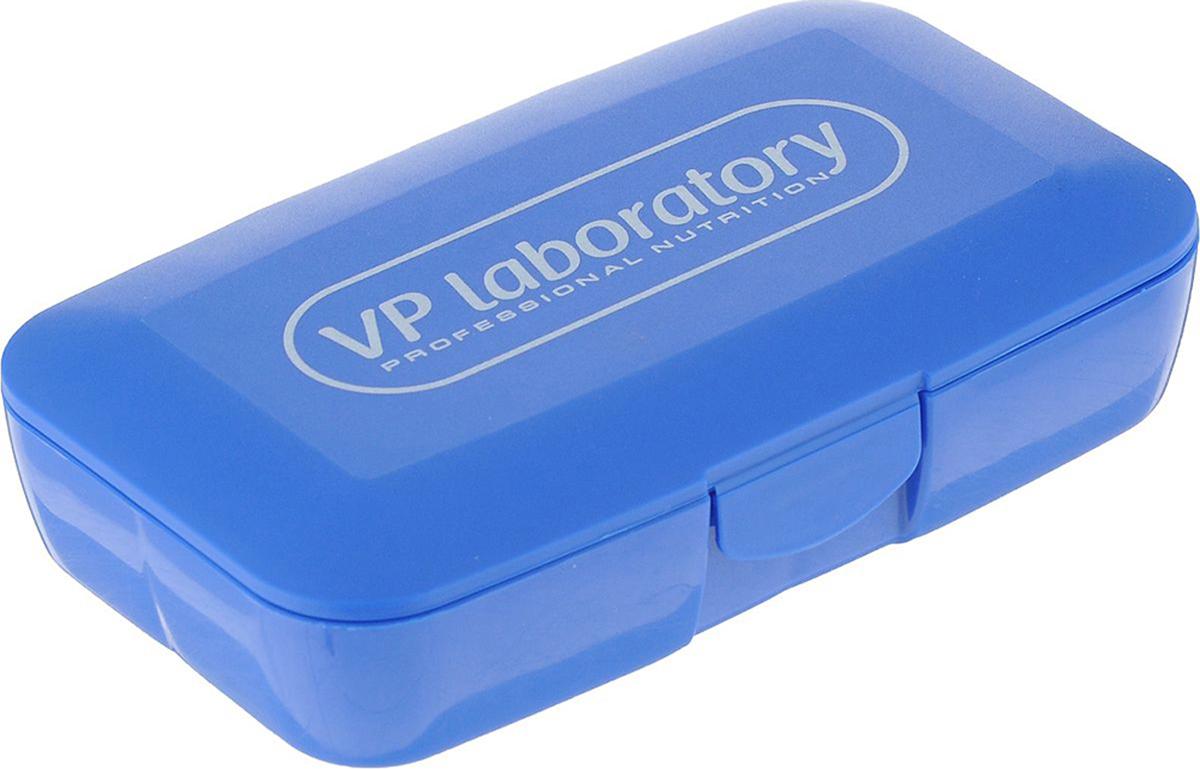 Органайзер для таблеток Vplab, цвет: синий, белый, 12,5 х 7,5 х 3 смVP7491Органайзер Vplab выполнен из высококачественного пластика в виде небольшой коробочки с 5 ячейками внутри. Такой органайзер используется для хранения капсул, таблеток или других мелких предметов. Конструкция органайзера включает специальный запорный механизм для безопасности. Размер ячеек: 4 х 3,5 х 3 см; 6 х 3,5 х 3 см. Размер органайзера: 12,5 х 7,5 х 3 см. Рекомендуем!