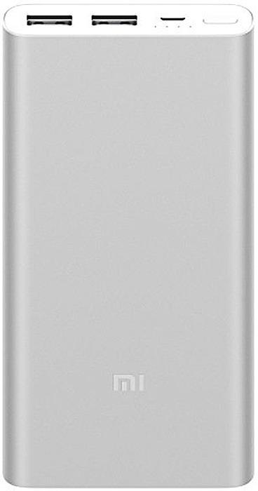Внешний аккумулятор Xiaomi Mi Power Bank 2S, Silver (10000mAh) портативное зарядное устройство xiaomi mi power bank 2 slim 10000mah серебристый