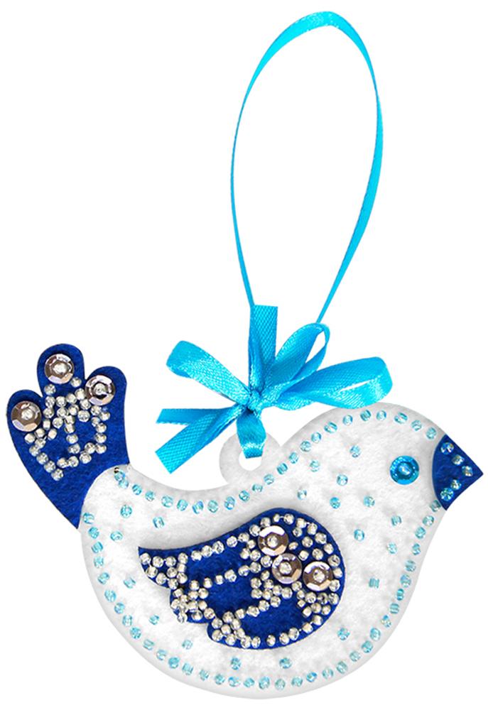 """Набор для изготовления игрушек Feltrica """"Птичка"""", цвет: синий"""
