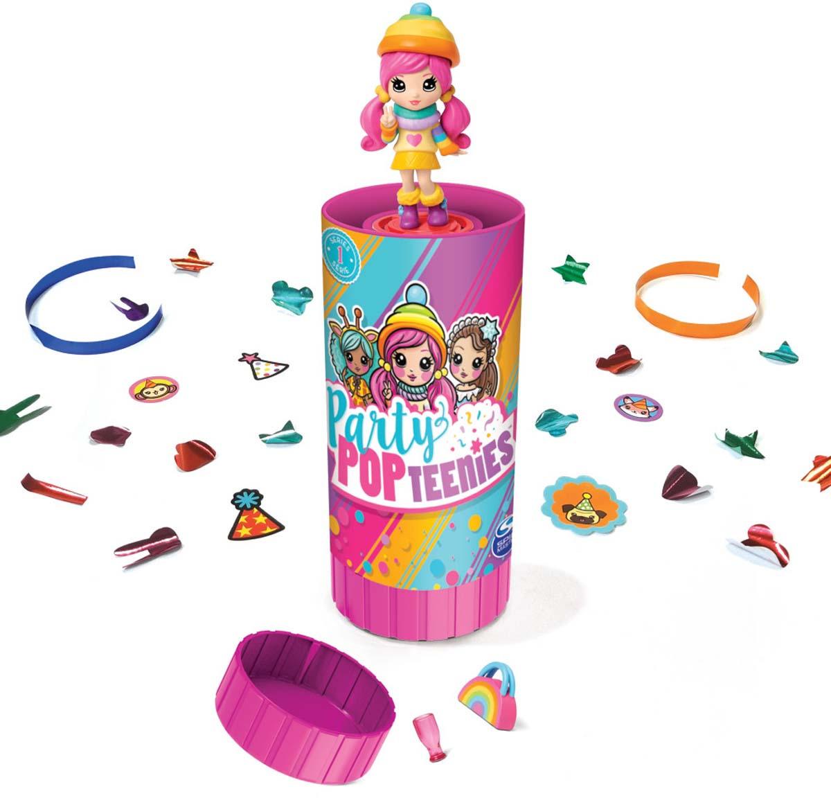 Игровой набор с куклой Party Popteenies Хлопушка с сюрпризом игровой набор с куклой party popteenies хлопушка с сюрпризом