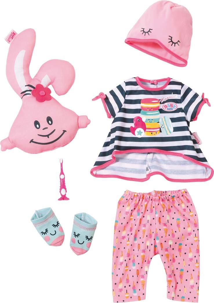 Одежда для кукол Zapf Creation Baby Born Пижамная вечеринка baby born пустышка для кукол