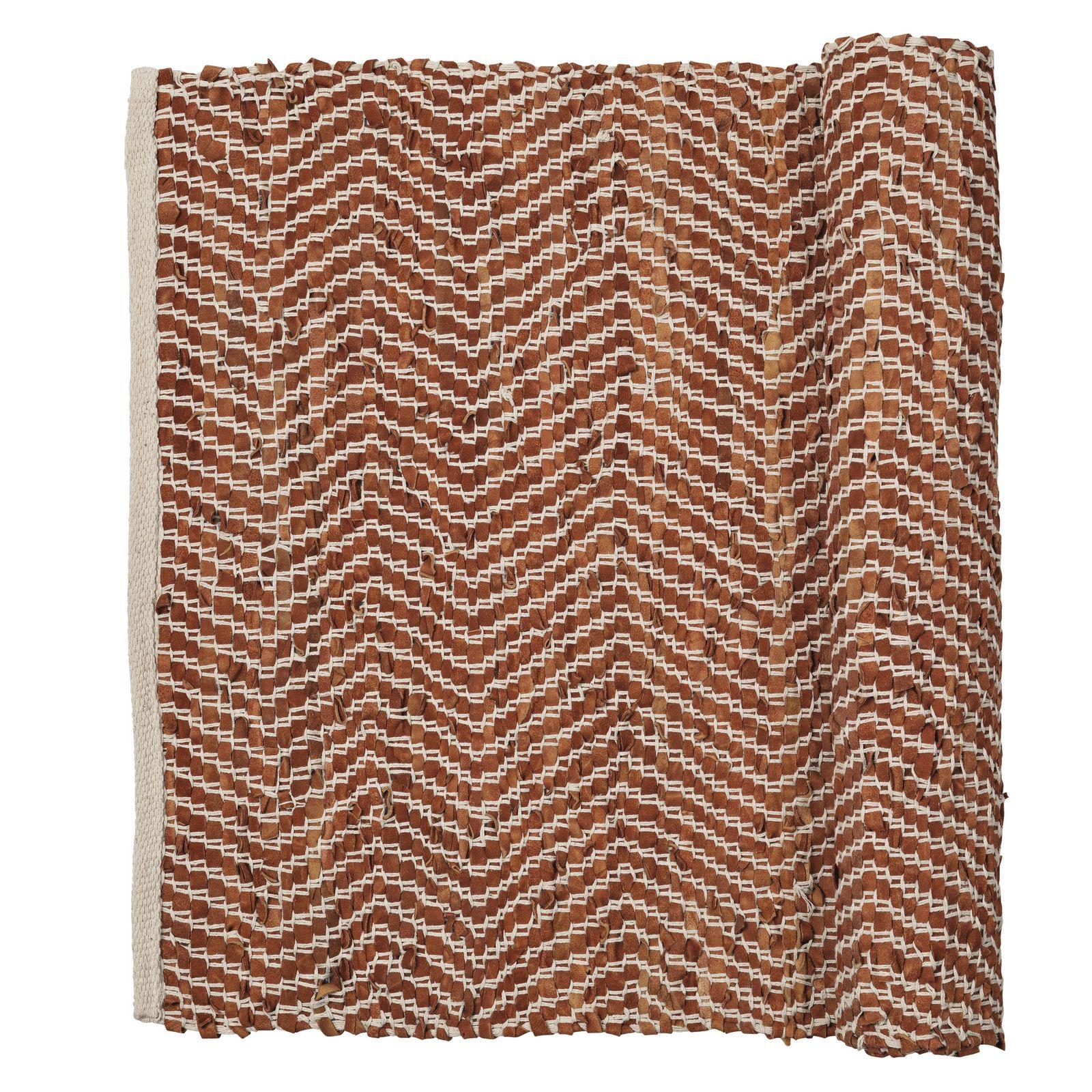 Ковёр Broste ZIGZAG, цвет: темно-бежевый, 200 x 140 см цена