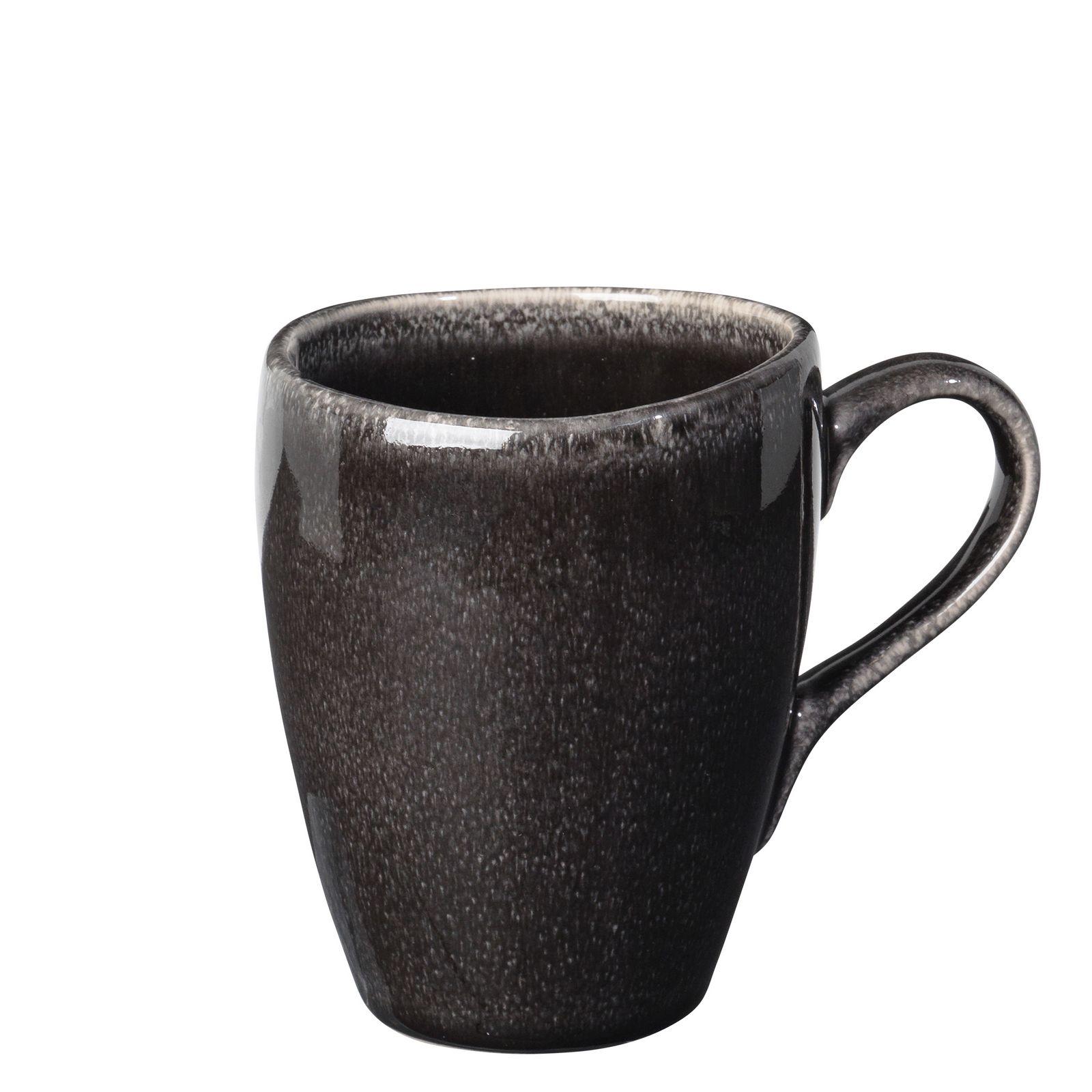 Набор кружек Broste Nordic Coal, цвет: темно-коричневый, 250 мл, 2 шт. 14533095