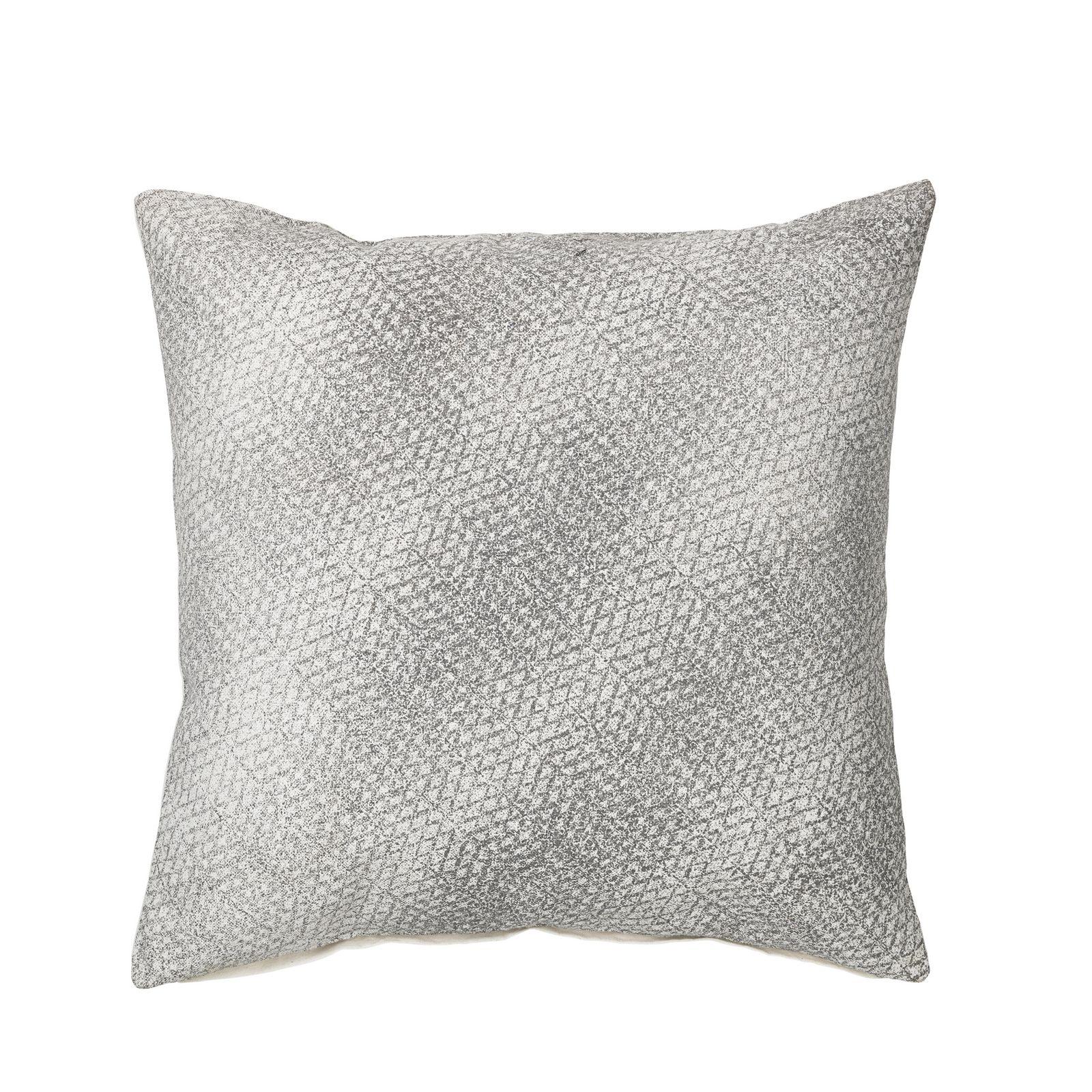 Наволочка декоративная Broste Gabriel, цвет: светло-серый, 50х50 см. 70120785