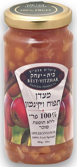 Джем Natural Products Beit Yitzhak LTD «Яблоко с корицей»100% без сахара «Бейт Ицхак» 284г Стеклянная банка, 284