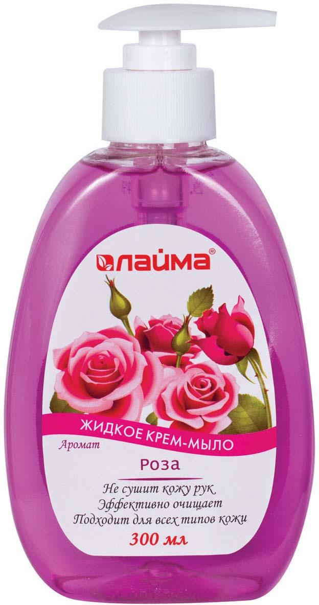 Фото - Крем-мыло жидкое Лайма Роза, 300 мл sanata жидкое крем мыло modamo лесная черника 300 мл