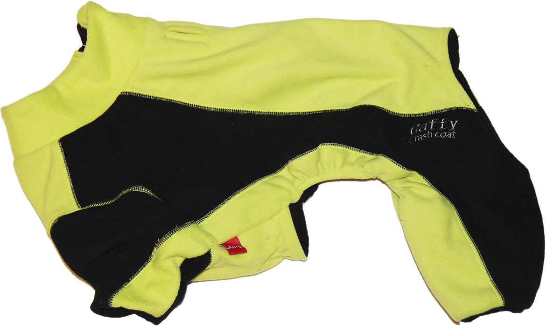 """Комбинезон для собак """"Gaffy Pet"""", унисекс, цвет: салатовый, черный. Размер S"""