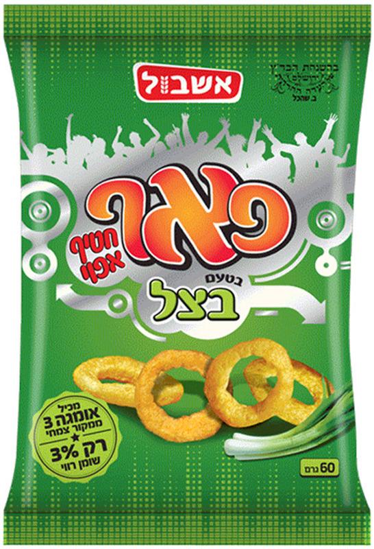 цена на Снэки Eshbol Ltd Снэк кукурузный «Пафф» со вкусом лука 60г, Лук, 60