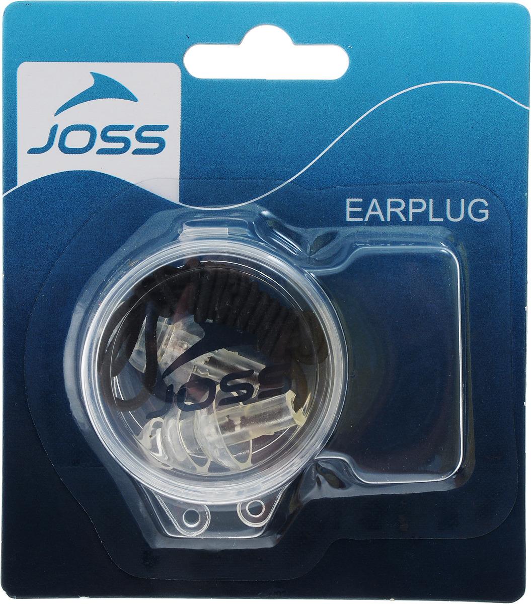 Беруши для плавания Joss, цвет: прозрачный. Размер универсальный