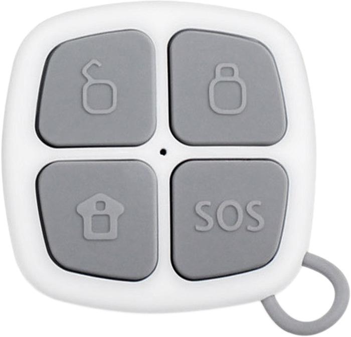 Пульт постановки/снятия с охраны Sapsan GSM Pro 4s, White датчики сигнализации homsecur diy gsm 3pet m2e white