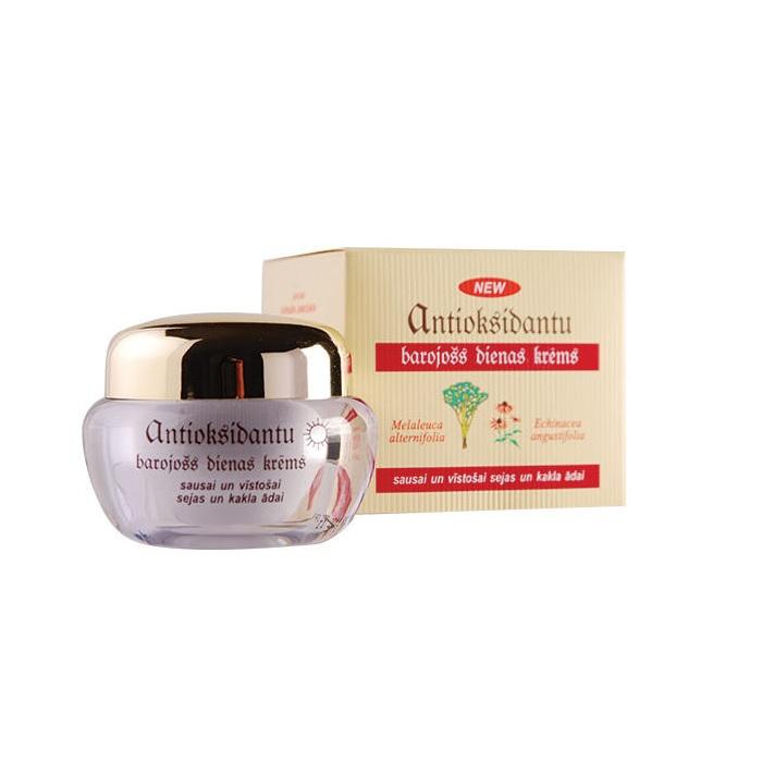Дневной крем Dzintars Антиоксидантный, питательный, для сухой и увядающей кожи лица и шеи, 50 мл Dzintars