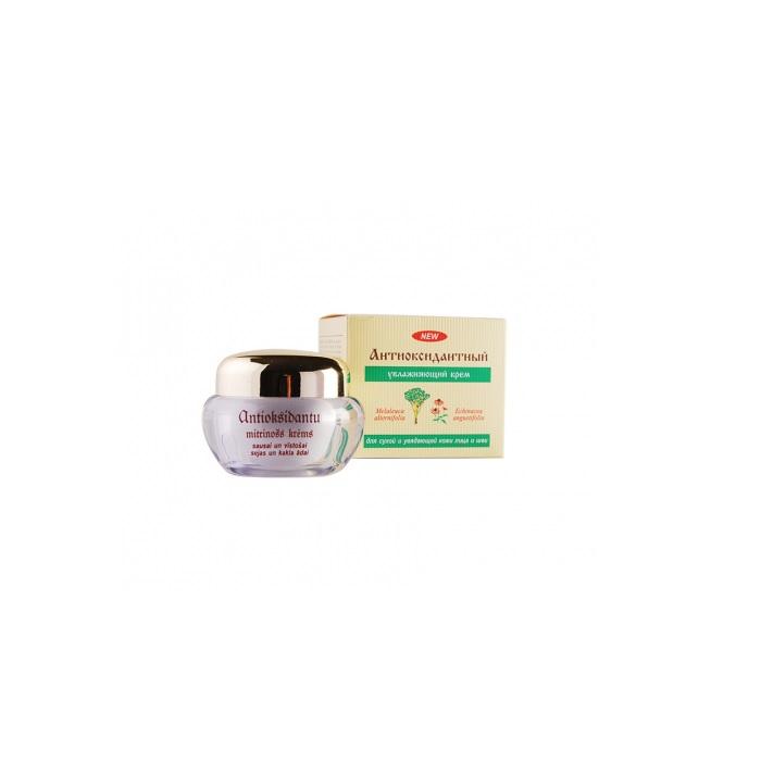 Дневной крем Dzintars Антиоксидантный, увлажняющий, для сухой и увядающей кожи лица и шеи, 50 мл Dzintars