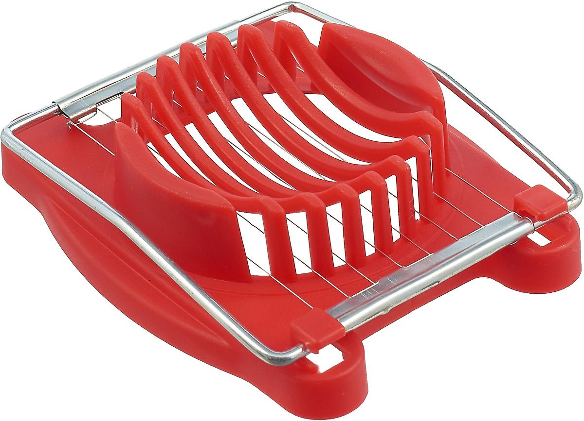 Яйцерезка МФК-профит Эконом, цвет: красный форма для запекания мфк профит сабина овальная 30 х 20 5 х 5 см