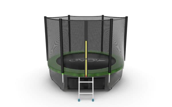 Батут Evo Fitness Evo Jump External 8ft (Green) + Lower net цена в Москве и Питере