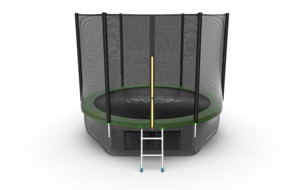Батут Evo Fitness Evo Jump External 10ft (Green) + Lower net