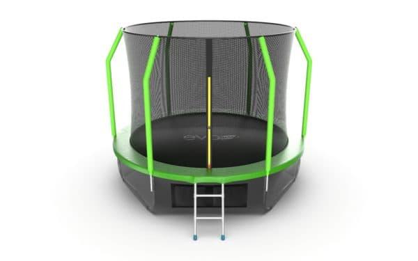 Батут Evo Jump Cosmo Cosmo 10ft (Green) + Lower net.