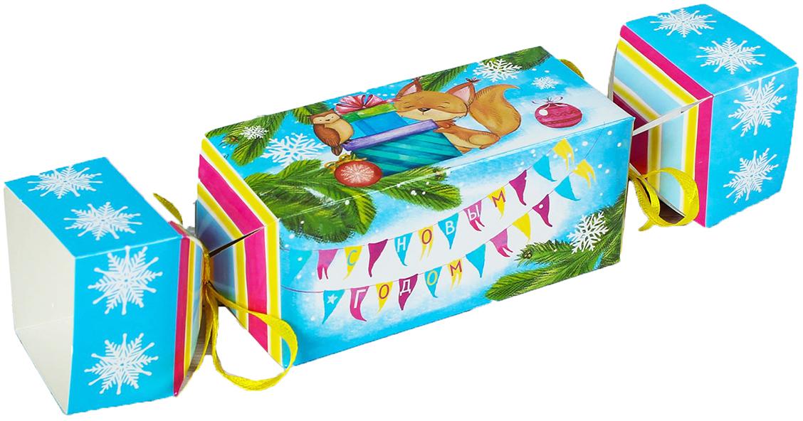 Фото - Коробка-конфета подарочная Дарите Счастье Веселого Нового Года!, складная, 11 х 5 х 5 см коробка конфета подарочная дарите счастье веселого настроения складная 16 х 7 х 7 см