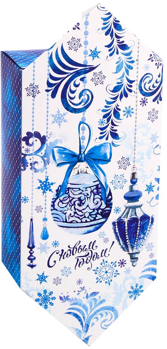 Фото - Коробка-конфета подарочная Дарите Счастье С Новым Годом!, сборная, 9,3 х 14,6 х 5,3 см коробка трансформер подарочная дарите счастье с новым годом 13 х 9 х 5 см