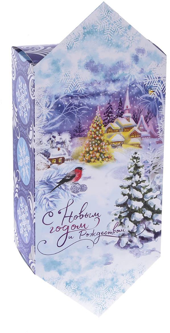 Фото - Коробка-конфета подарочная Дарите Счастье С Новым годом и Рождеством!, сборная, 14 х 22 х 8 см коробка трансформер подарочная дарите счастье с новым годом 13 х 9 х 5 см