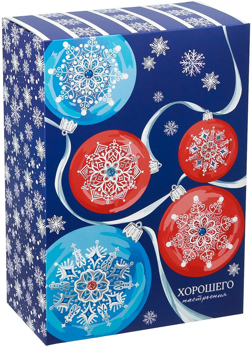 Фото - Коробка подарочная Дарите Счастье Хорошего настроения, складная, 16 х 23 х 7,5 см коробка конфета подарочная дарите счастье веселого настроения складная 16 х 7 х 7 см