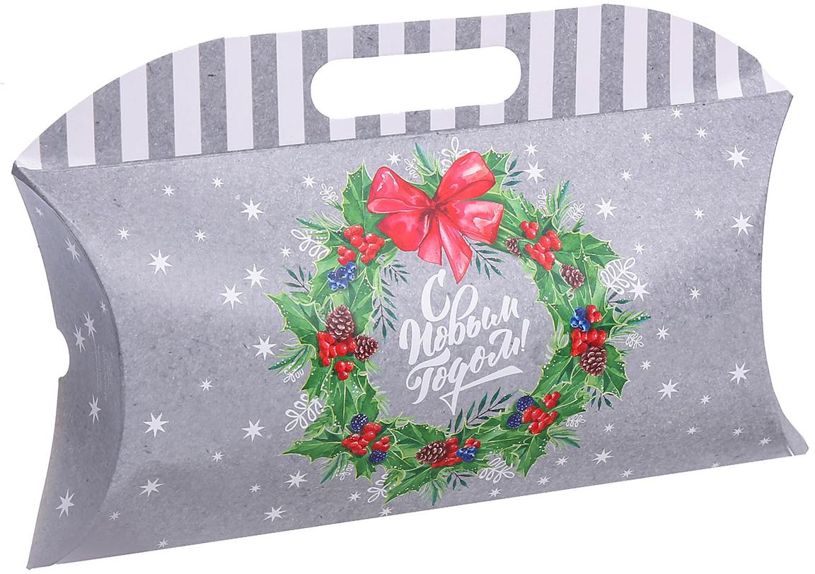 Фото - Коробка подарочная Дарите Счастье С Новым Годом!, 21,5 х 13,5 х 5 см коробка трансформер подарочная дарите счастье с новым годом 13 х 9 х 5 см
