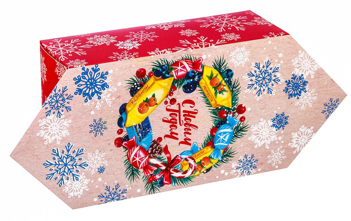 Фото - Коробка-конфета подарочная Дарите Счастье С Новым Годом, сборная, 14 х 22 х 8 см коробка трансформер подарочная дарите счастье с новым годом 13 х 9 х 5 см