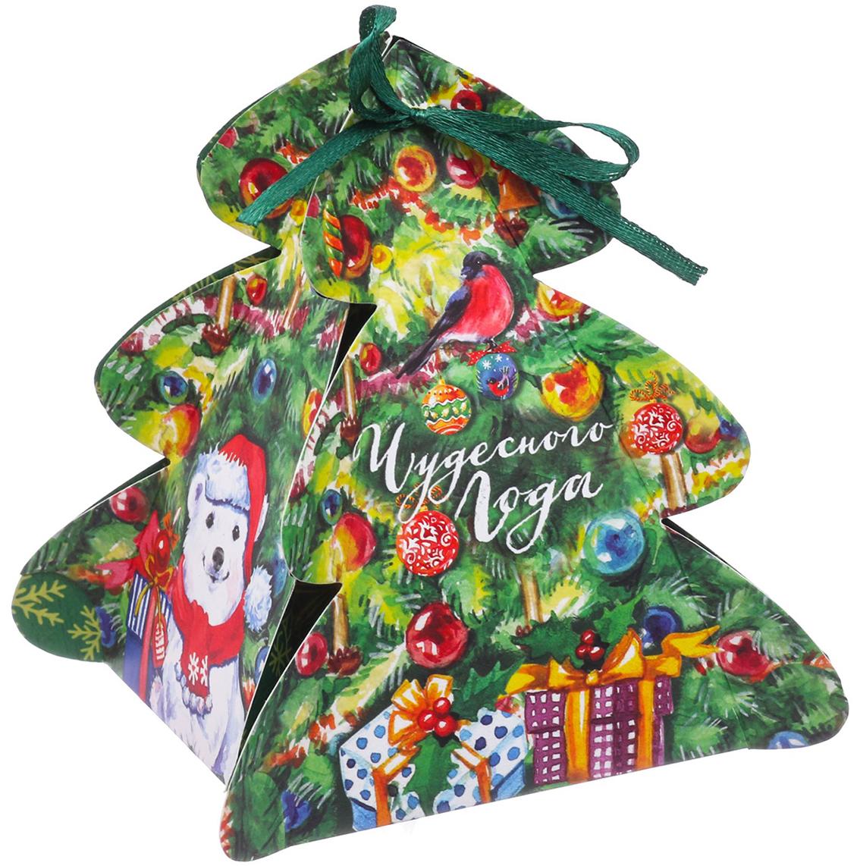 Коробка подарочная Дарите Счастье Чудес!, сборная, фигурная, 12 х 8 х 8 см3573606Любой подарок начинается с упаковки. Что может быть трогательнее и волшебнее, чем ритуал разворачивания полученного презента. И именно оригинальная, со вкусом выбранная упаковка выделит ваш подарок из массы других. Она продемонстрирует самые теплые чувства к виновнику торжества и создаст сказочную атмосферу праздника.