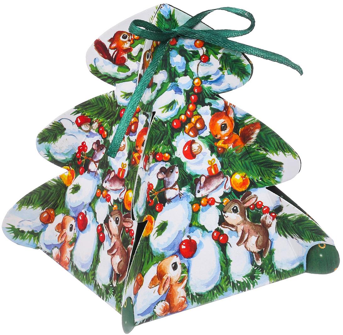Коробка подарочная Дарите Счастье Новогодний сюрприз, сборная, фигурная, 12 х 8 х 8 см3573607Любой подарок начинается с упаковки. Что может быть трогательнее и волшебнее, чем ритуал разворачивания полученного презента. И именно оригинальная, со вкусом выбранная упаковка выделит ваш подарок из массы других. Она продемонстрирует самые теплые чувства к виновнику торжества и создаст сказочную атмосферу праздника.