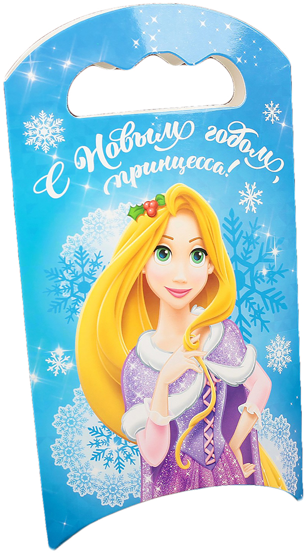 """Коробка подарочная Disney """"С Новым годом, принцесса"""", складная, 12 х 18,5 х 3,8 см"""