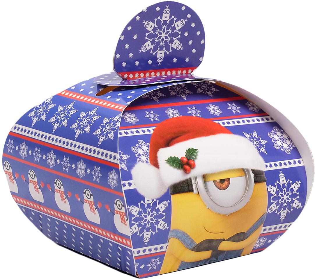 """Коробка подарочная Гадкий Я """"Новый год. Гадкий Я"""", складная, 11,5 х 11 х 9 см"""