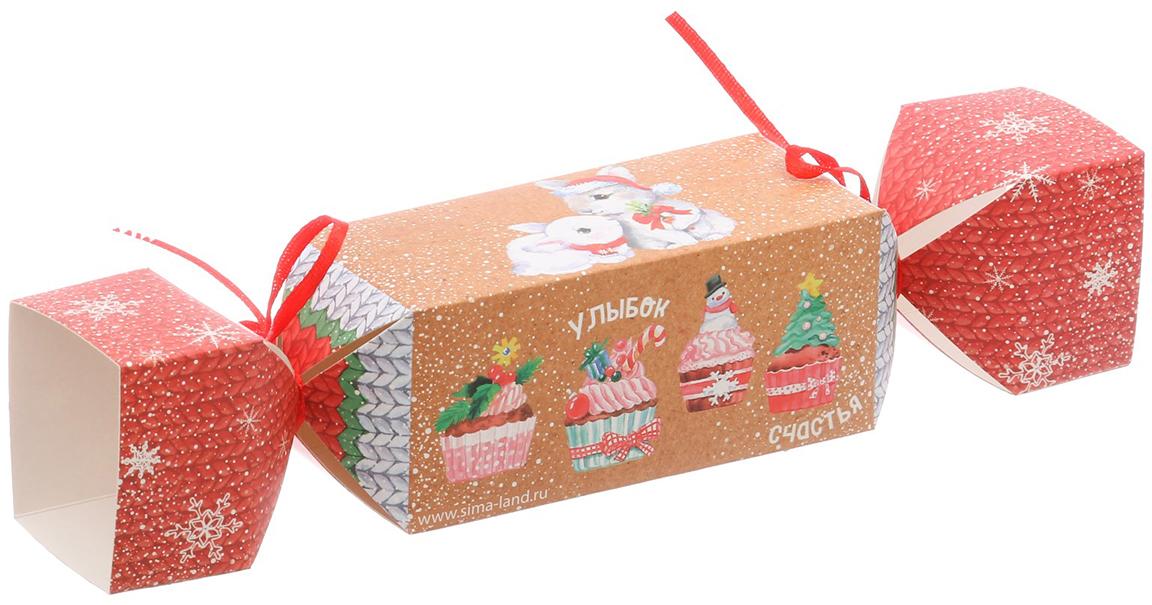 Фото - Коробка-конфета подарочная Дарите Счастье Радости!, складная, 11 х 5 х 5 см коробка конфета подарочная дарите счастье веселого настроения складная 16 х 7 х 7 см