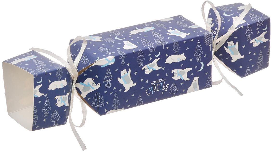 Коробка-конфета подарочная Дарите Счастье Большого счастья, складная, 11 х 5 х 5 см коробка подарочная mister christmas складная 15 5 х 19 5 х 6 5 см gh fb 1