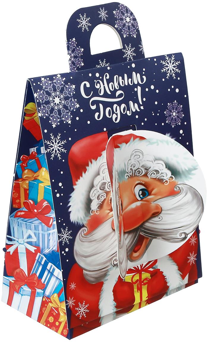 Фото - Коробка подарочная Дарите Счастье С Новым Годом!, складная, 14 х 18,5 х 8 см коробка трансформер подарочная дарите счастье с новым годом 13 х 9 х 5 см