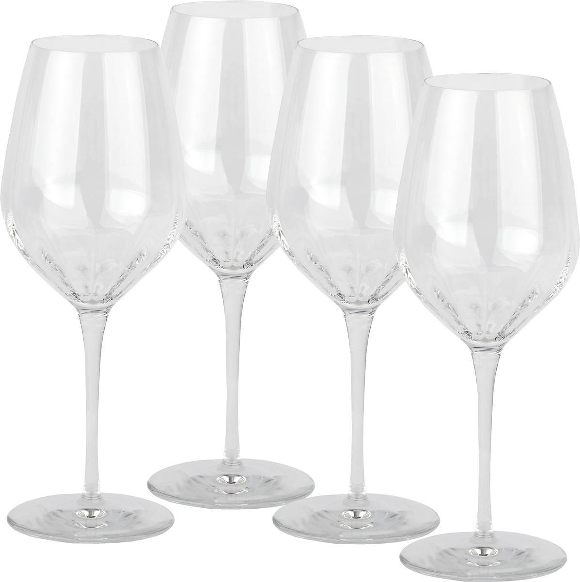 Набор бокалов Bormioli Rocco Incontri, для красного вина, 430 мл, 4 шт набор стаканов bormioli rocco сордженте кулер цвет желтый 460 мл 3 шт