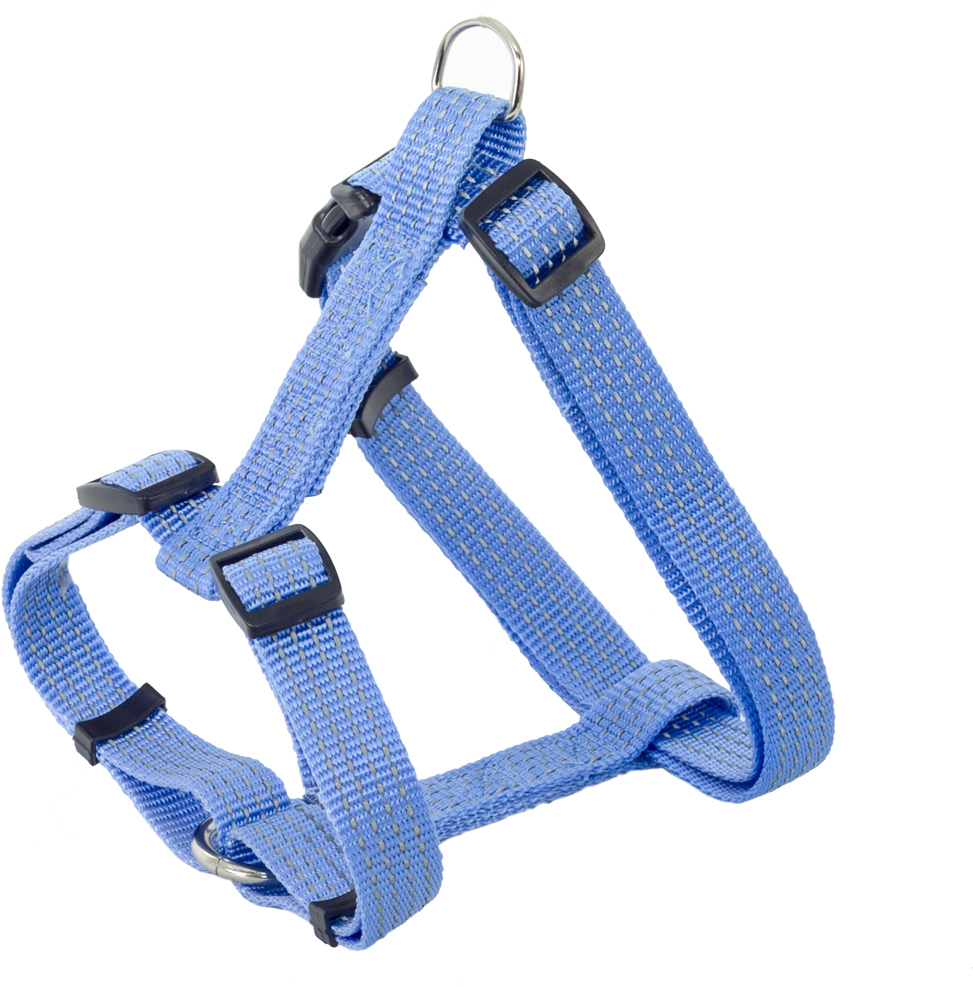 Шлейка для собак Каскад, цвет: синий, 20 х 50/70 см шлейка для собак каскад цвет красный 1 5 х 30 50 см