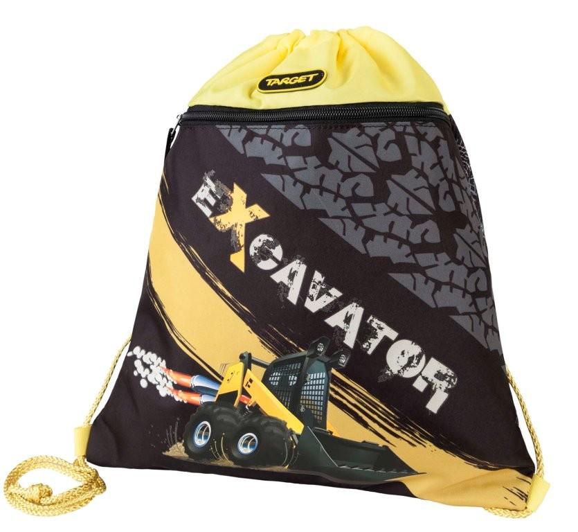 Фото - Сумка Target для детской сменной обуви Экскаватор сумка target для детской сменной обуви sparkling цвет синий