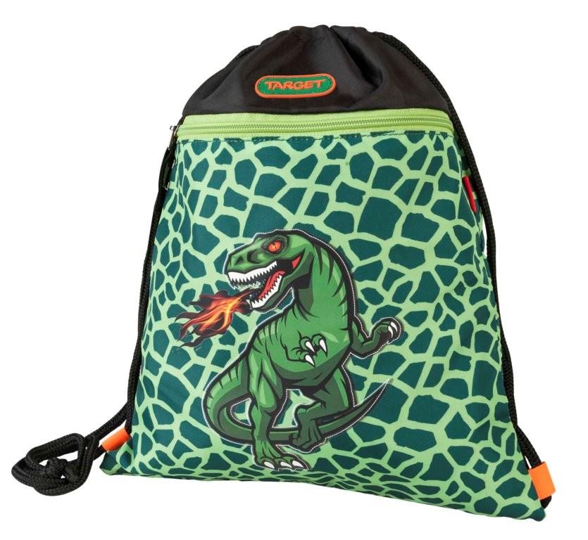 Фото - Сумка Target для детской сменной обуви Динозавр сумка target для детской сменной обуви sparkling цвет синий