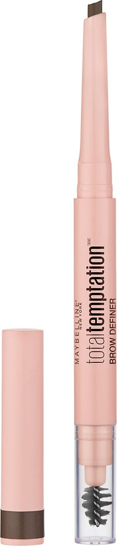 Карандаш для бровей Maybelline New York Temptation, карандаш + щеточка, оттенок 120, цвет: шатен