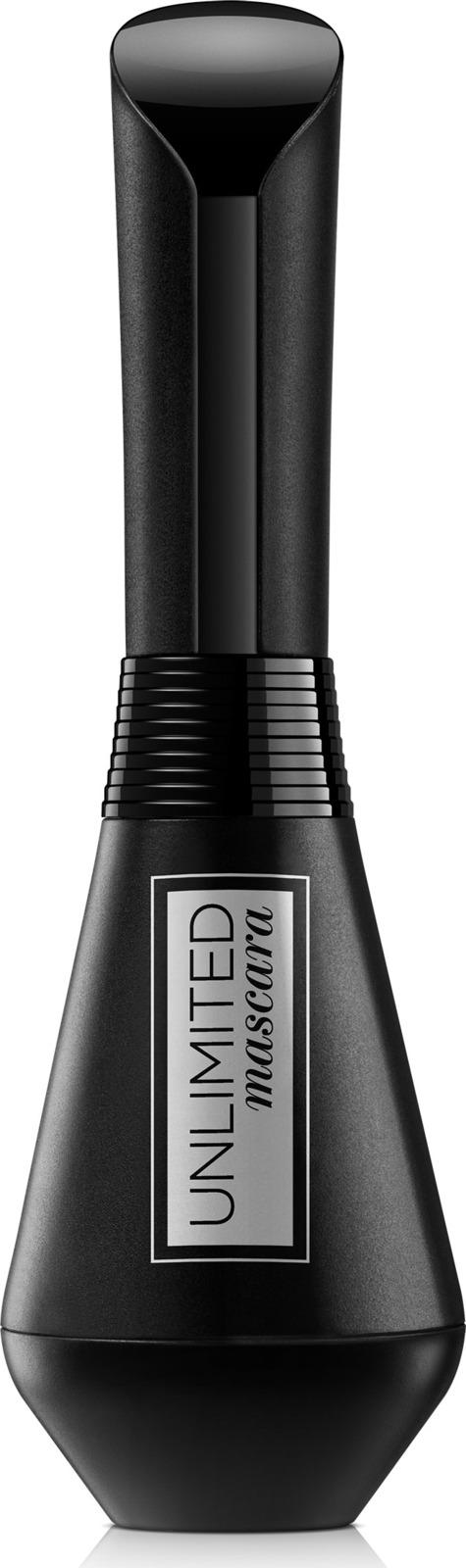 Тушь для ресниц L'Oreal Paris Unlimited, для удлинения и подкручивания, лифтинг эффект, цвет: черный, 7,4 мл