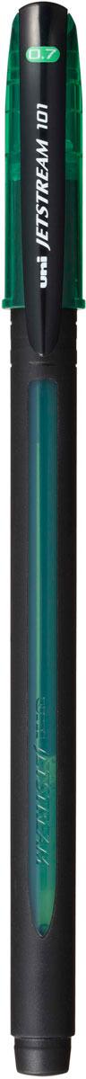 цена на Ручка шариковая Uni, Jetstream SX-101-07, цвет чернил: зеленый