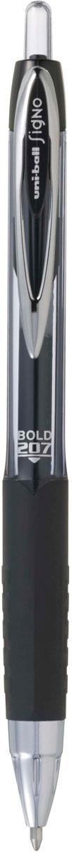цена на Ручка гелевая Uni, UMN-207 автоматическая, цвет чернил: черный