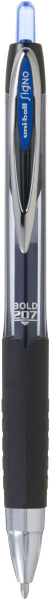 цена на Ручка гелевая Uni, UMN-207 автоматическая, цвет чернил: синий