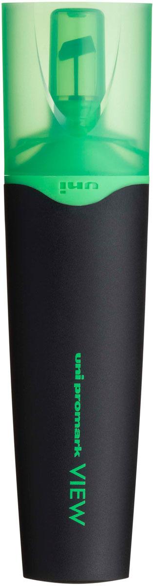 цена на Текстовыделитель Uni, USP-200 цвет: зеленый, 1,0 - 5,0 мм