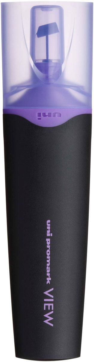 цена на Текстовыделитель Uni, USP-200 цвет: фиолетовый, 1,0 - 5,0 мм