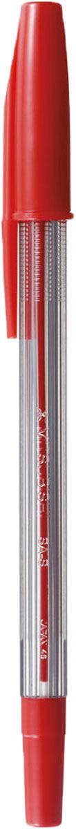 Набор ручек шариковых Uni, FINE SA-S, цвет чернил: красный, 0,7 мм. 12 шт набор ручек шариковых uni lakubo sg 100 цвет чернил черный 0 5 мм 12 шт