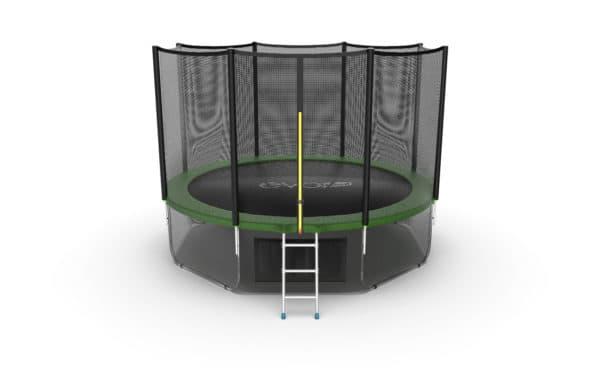 Батут Evo Fitness Evo Jump External 12ft (Green) + Lower net