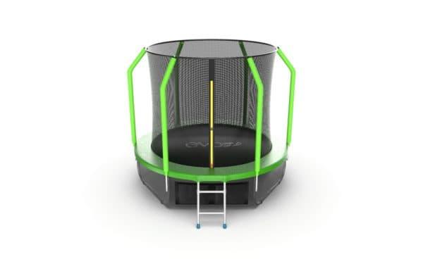 Батут Evo Jump Cosmo Cosmo 8ft (Green) + Lower net.
