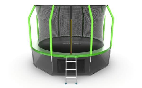 Батут Evo Jump Cosmo Cosmo 12ft (Green) + Lower net.
